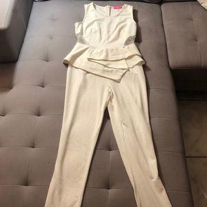 Ivory Jumpsuit